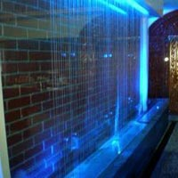 Water Park Rain Curtain Designing And Installation