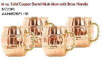 Copper Barrel Mule Mugs