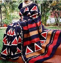 Chanderi Silk Shibori Sarees