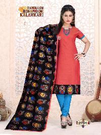 Handloom Kalamkari Suits