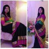Maheshwari Silk Saree