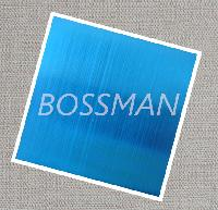 201 Sapphire Blue Brushed Surface Stainless Steel Plate
