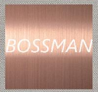 304 Rose Gold Color Brushed Finished Stainless Steel Plate