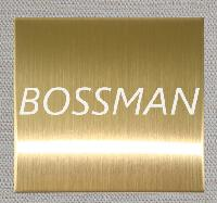 304 Titanium Gold Brushed Finished Stainless Steel Plate