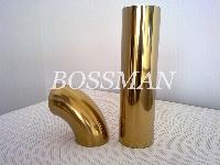 Stainless Steel Welded Pipe Plated in Golden Color