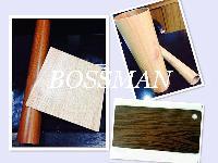Teak Color Stainless Steel Welded Pipe