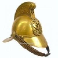 Fireman Helmet Replica Antique Larp Helmet