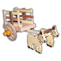 Wooden Ox Carts