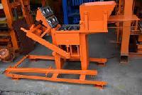 concrete interlocking bricks making machine