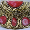 METAL CLUTCH PARTY BEADED BAGS