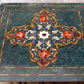 Green Marble Inlay Table Top