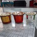 Home Decor Glass Candle Votive