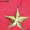Metal Christmas hanging star shape