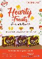 Hearty treats animal feed supplement
