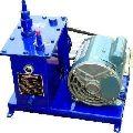 high vaccum pump in belt drive