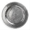 Hammered Metal Charger Plate