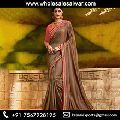 Silk Party Wear Border Work Sare