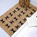handmade door floor mat jute