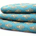handmade turquoise color fabric