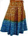 Ethnic bandhni long skirt