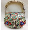 Designer and  Beautiful Ethnic Party Metal Clutch Bag