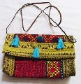 Handmade Vintage Banjara Cotton Clutch bag