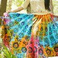 l Ethnic Print Vintage Long Fashionable Women Skirt