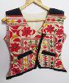 Mirror Embroidery Work Kutch Vintage Banjara Jacket
