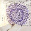 tablecloth Beach Round tapestry