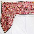 Vintage Indian Handmade Cotton Wall Hanging