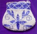BEADED EMBROIDERY DESIGNER COIN PURSE