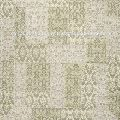 Ivory Cotton Chenille jacquard Patchwork Indian Rugs