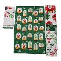 Cotton printed Christmas Printed Tea Towel
