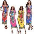 African Dashiki Women Traditional African Printed