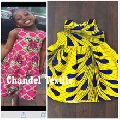 Ankara Girls Kente Dress