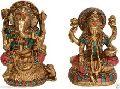 GOD Jai Ganesha Lakshmi Statue