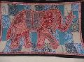 Indian Hand Elephant Wall Hanging Tapestry Embroidered