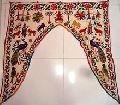 Indian Hand Vintage Embroidered Door Hanging Cotton