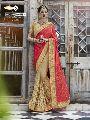 stone hand work net sarees