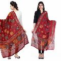 Cotton Sitara Work Dupatta
