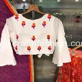 Embroidered Silk Lehenga Choli