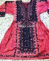 Handmade Balochi Embroidery Dress