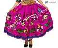 Tribal Gypsy Hand Embroidered Skirt
