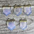 Handmade Stone Arrowhead Pendant