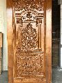 Teak Wood God Carved Door
