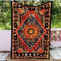 Sun Mandala Tapestry Wall Hanging Hippie Throw