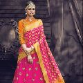 Silk Unstitched Party Wear Lehenga