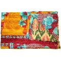 Kantha Quilt Bed Sheet
