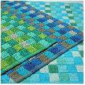 Frame Loom Cotton Bath Mat