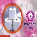 Mercerized yarn
